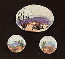 Landscape Post earrings
